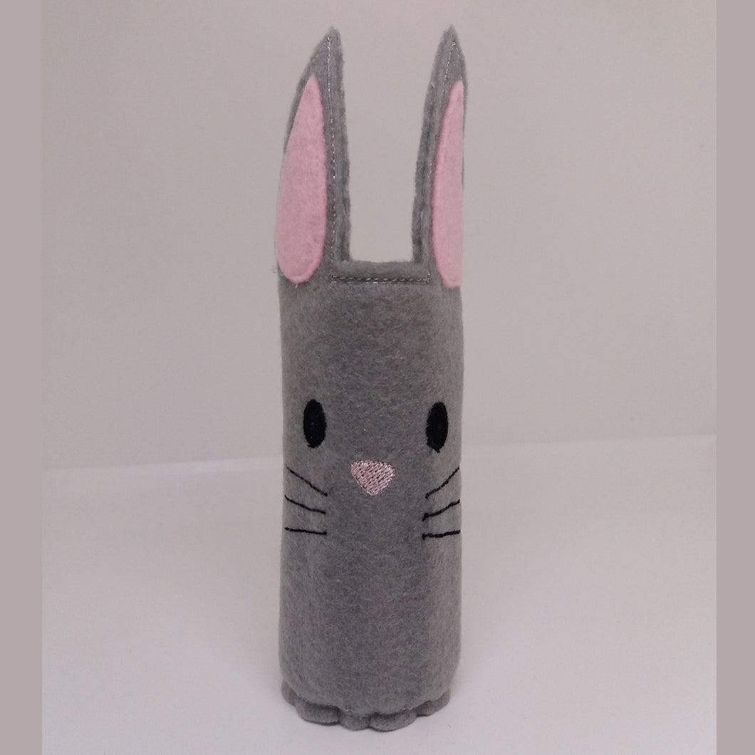 Bunny Pencil Wrap with Colouring Pencils - Little Luna Creations