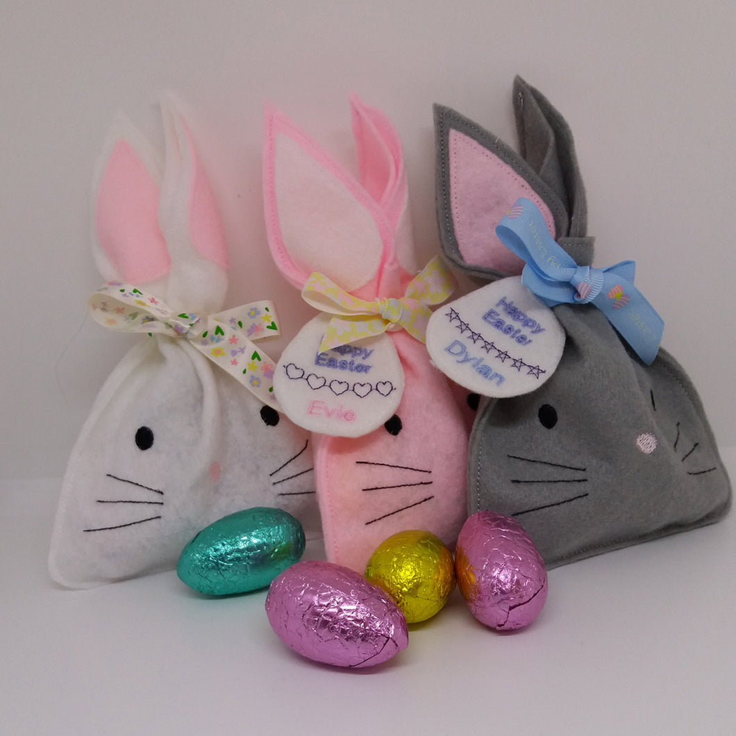 Easter Bunny Treat Bags - Little Luna Creations
