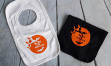 Load image into Gallery viewer, Halloween bibs - Little Luna Creations