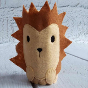 Hedgehog Pencil Wrap with Colouring Pencils - Little Luna Creations