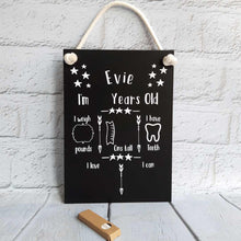 Load image into Gallery viewer, Milestones Chalkboard - Little Luna Creations