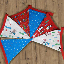Load image into Gallery viewer, Christmas Bunting - Little Luna Creations