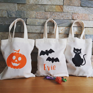 Halloween Trick or Treat Bags - Little Luna Creations