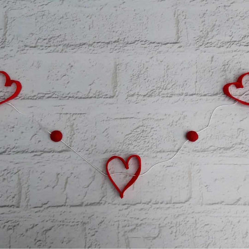 Heart Garland - Little Luna Creations