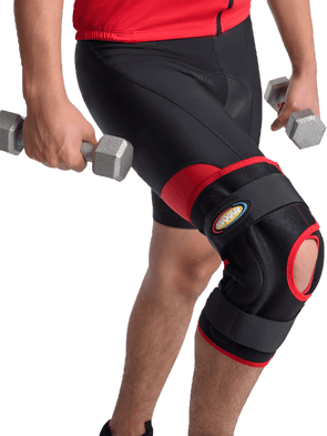 Airprene (Breathable Neoprene) Knee Brace - Double-Pivot Hinge,  - Maxar Braces