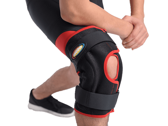 MAXAR Airprene Wrap-Around Hinged Knee Brace - Maxar Braces