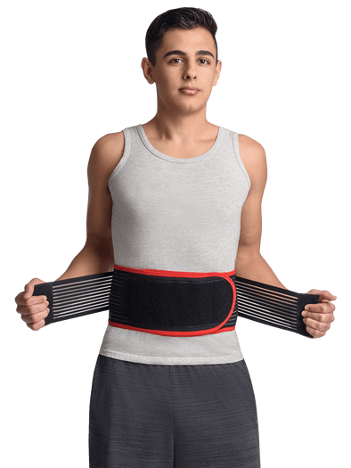 Deluxe Bio-Magnetic/Far-Infrared Back Support Belt Maxar Braces
