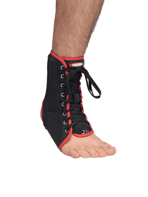 Canvas Ankle Stabilizing Brace (With Laces),  - Maxar Braces