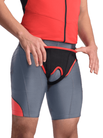 Deluxe Hernia Support - Double Sided with Removable Inserts,  - Maxar Braces