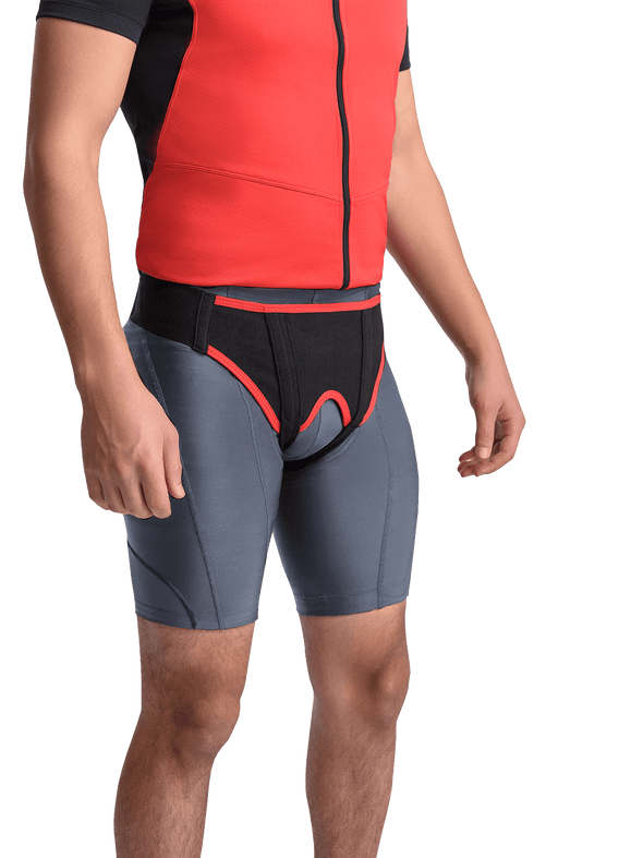 MAXAR Inguinal Hernia Support Double Sided Belt - Maxar Braces