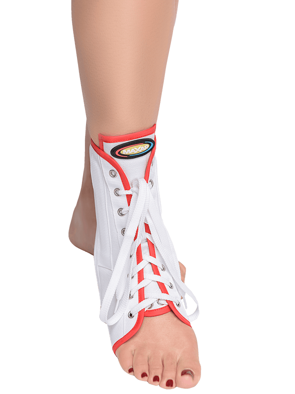 Canvas Ankle Brace (With Laces),  - Maxar Braces