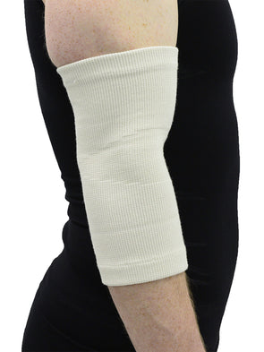 MAXAR Wool/Elastic Elbow Brace (Two-Way Stretch, 56% Wool) - Maxar Braces