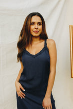 Load image into Gallery viewer, Midnight Navy Slip Dress