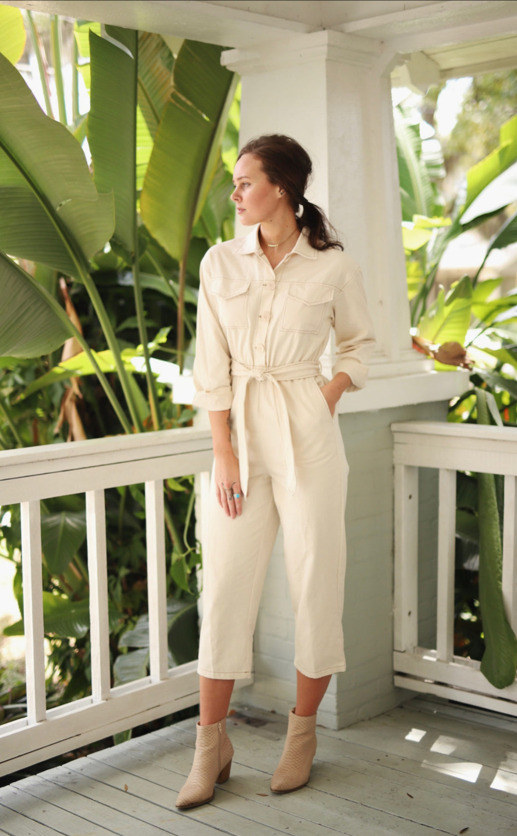 Brooklyn Utility Jumpsuit