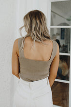 Load image into Gallery viewer, Tawni Taupe Tank