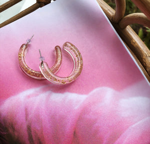 Gold Rush Hoop Earring