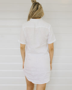 Low Key Linen Dress