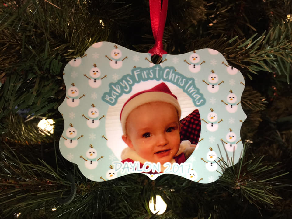 Custom Personalized Ornament