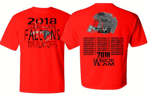 Falcon Senior team Playoff  Shirt