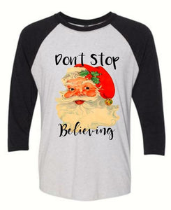Don't Stop Believing Sublimated Tee