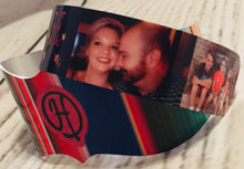 Load image into Gallery viewer, Personalized Photo Cuff Bracelet