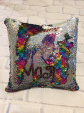 Load image into Gallery viewer, Sublimated Mermaid Pillow