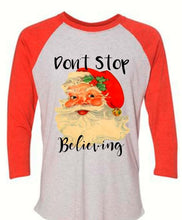 Load image into Gallery viewer, Don't Stop Believing Sublimated Tee