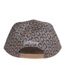 Load image into Gallery viewer, Supreme Stirrups 5-Panel Snapback Beige 24159