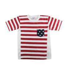 Load image into Gallery viewer, Champion Mens Flag Print Heavyweight Short Sleeved T-Shirt C3-F310-010
