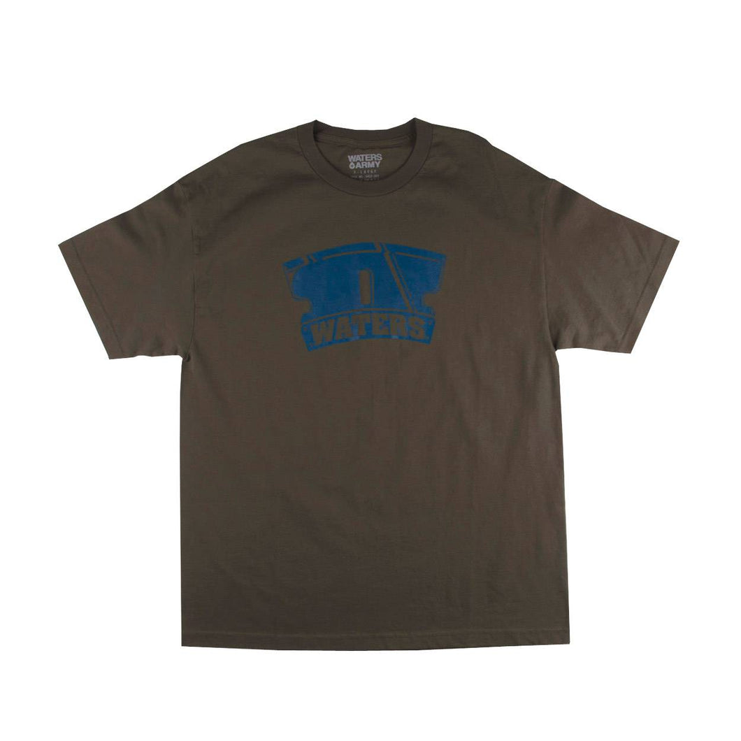 Waters & Army Mens Logo Short Sleeve T-Shirt 32789
