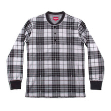 Load image into Gallery viewer, Supreme Mens Plaid Henley 32863