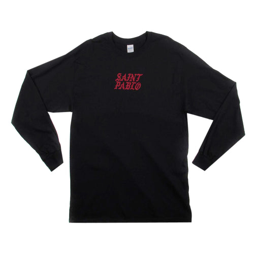 Kanye West Saint Pablo Kim Tennis Black Long Sleeve