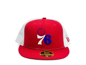 New Era 59Fifty Hardwood Classics Philadelphia 76ers Fitted