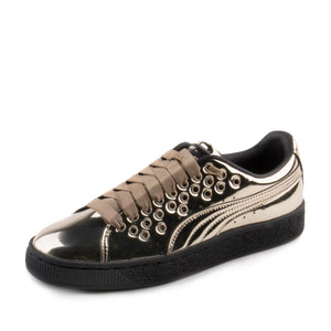Puma Womens Basket XL Lace Metal 364536-03