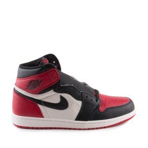 "Nike Mens Air Jordan 1 Retro High OG ""Bred Toe"" 555088-610"