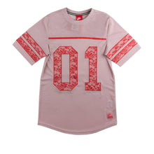 "Load image into Gallery viewer, Nike Womens ""Nike Knows"" Lace Jersey 728471-618"