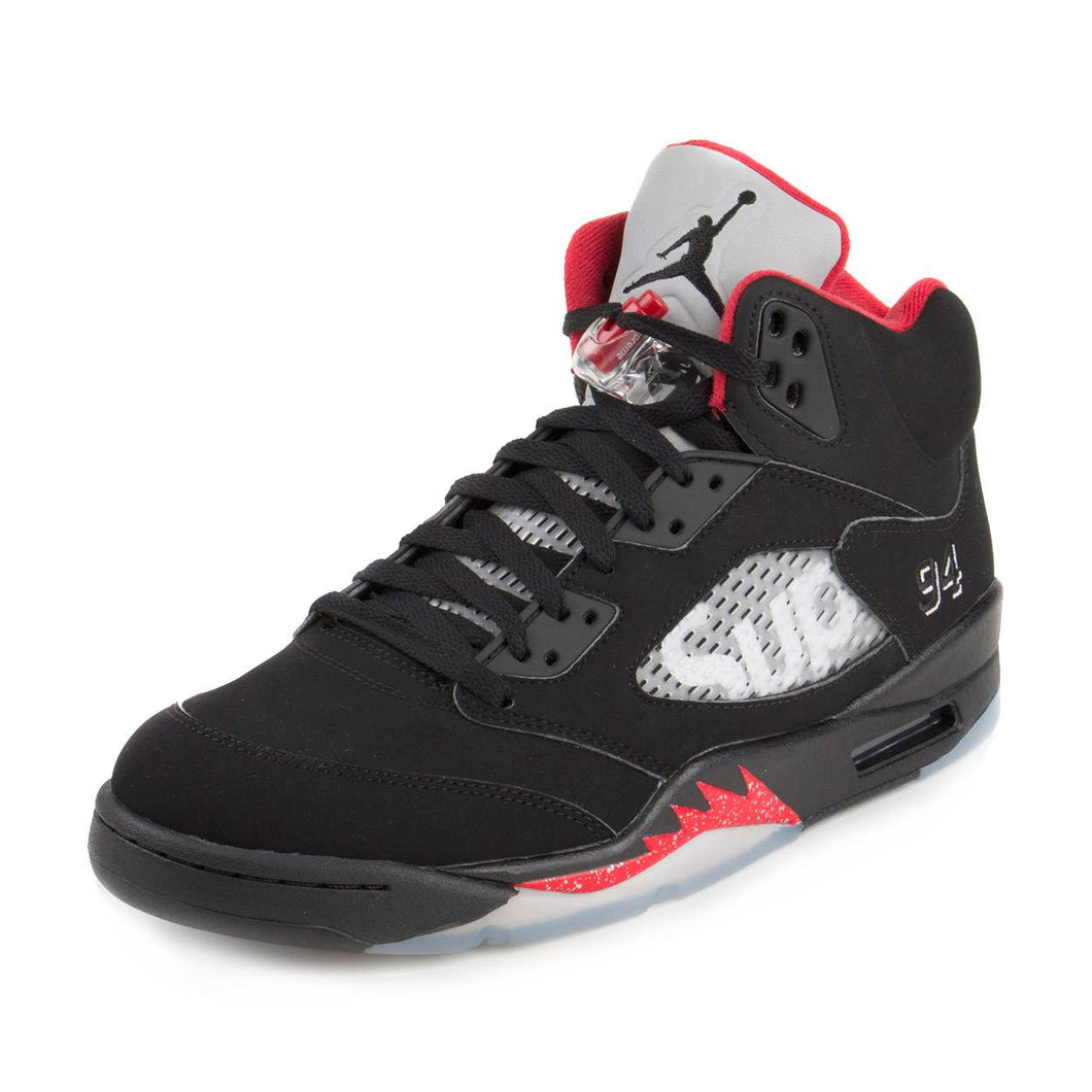 Nike Mens Air Jordan 5 Retro Supreme 824371-001