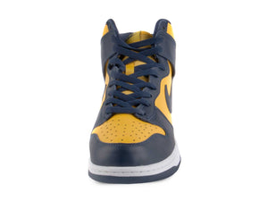 "Nike Mens Dunk High SP ""Michigan"" Varsity Maize/Midnight Navy CZ8149-700"