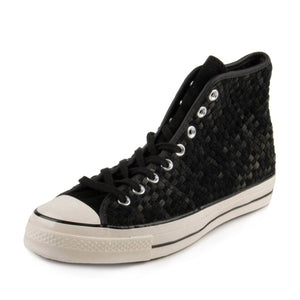 "Converse Mens CT AS 70 HI ""Black Woven"" 151244C"