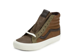 Vans Mens SK8-HI Reissue St Premium Leather Mutli Brown VN-0A3DPOULA