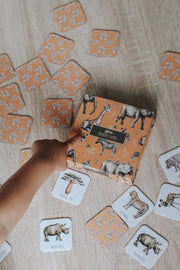 Modern Monty - African Memory Card Game
