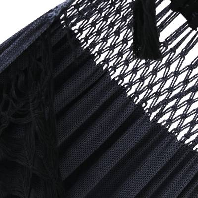 Luxury Cotton Hammock - Midnight