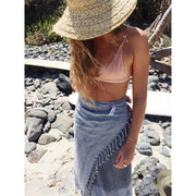 Luxe Stonewash Turkish Towel - bamboo cotton blend  noosabedbodybaby
