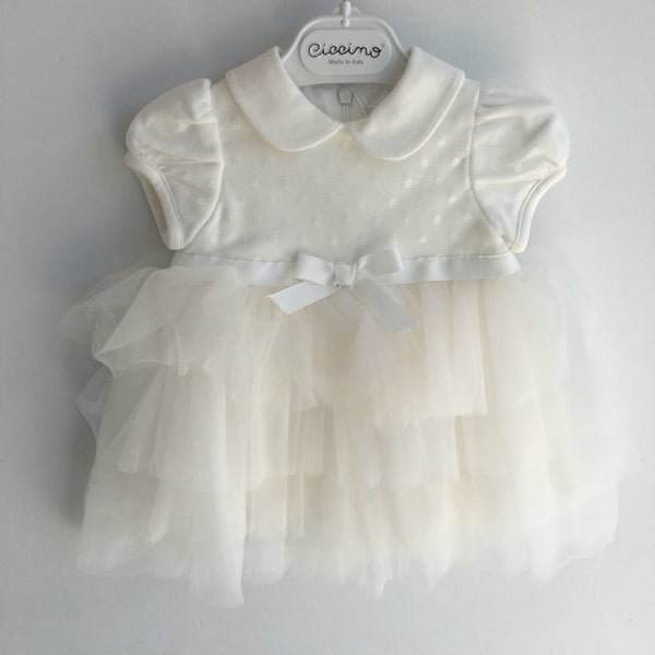 ARIA LAYERED TULLE DRESS