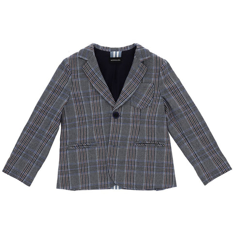 CHECKED SPORTY BLAZER