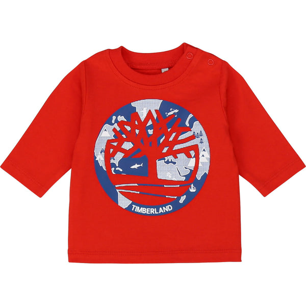 LONG SLEEVE RED T - SHIRT