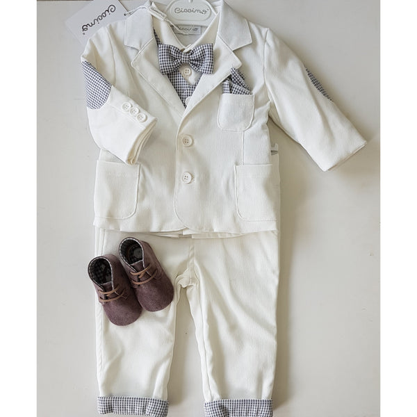 DOMENICO FIVE PIECE SUIT SET