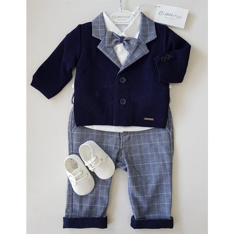 ANGELO FOUR PIECE SUIT SET