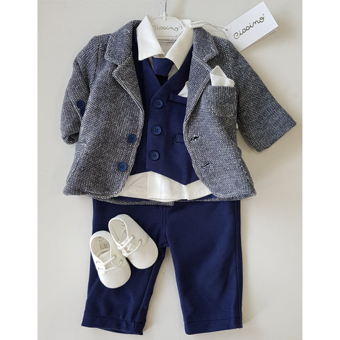 PAOLO FIVE PIECE SUIT SET