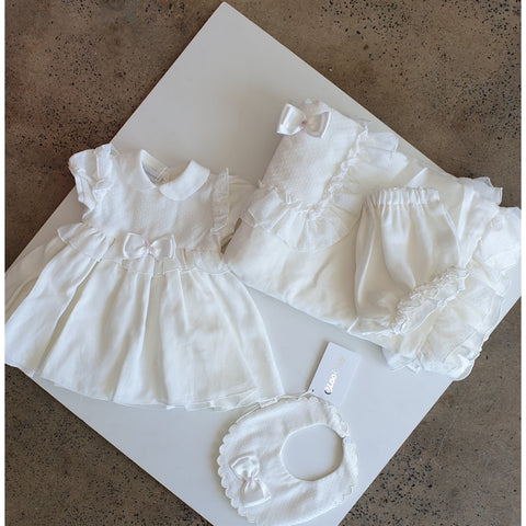 ROSEMARY BABY GIRL DRESS AND BLOOMERS